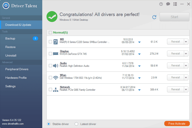 Driver Talent PRO 7.1.1.16 Crack + Products Key Free Download