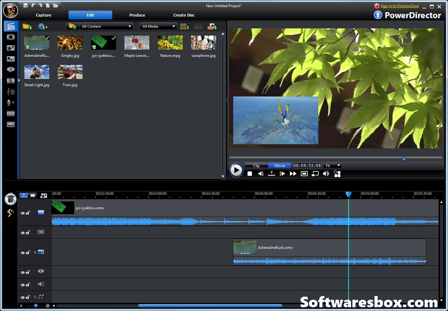 PowerDirector 17 Crack + Serial Key Free Download