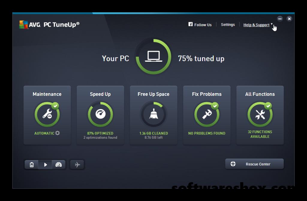 AVG PC TuneUp 2018 Crack + License Key Free Download