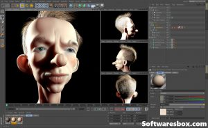 Maxon CINEMA 4D R22.116 Crack Latest Version Free Download {2020}