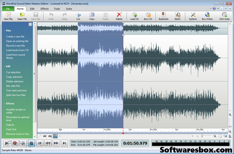 WavePad Sound Editor 8.27 Crack + Registration Code Free Download