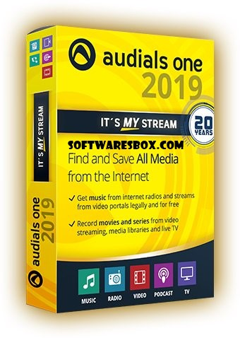 Audials One Platinum 2019.0.10800.0 Crack + License Key Free Download {win+mac}