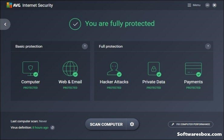 AVG Internet Security 2019 Crack + License & Serial Key Free Download