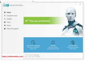 ESET NOD32 Antivirus 13.1.16.0 Crack With License Key FullVersion 2020